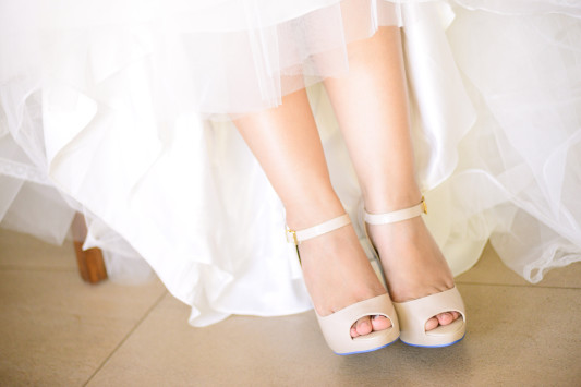 BRIDE'S SECOND MELISSA SHOES