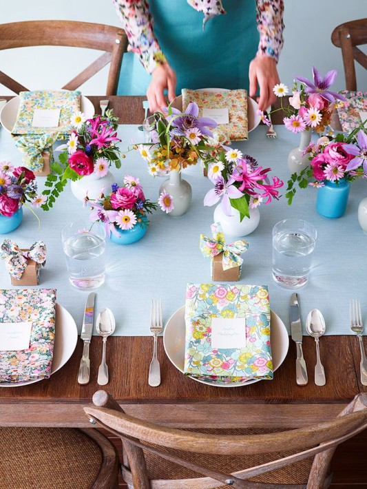 alternative-wedding-napkin-ideas-patterned