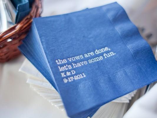 alternative-wedding-napkin-ideas-printed-words