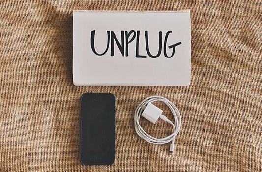 Free Spirited Friday – Unplug to Slow Down