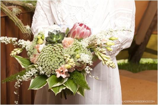 Tipi summer wedding