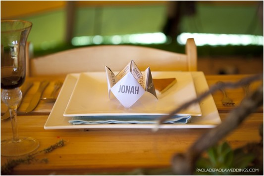 Tipi summer wedding