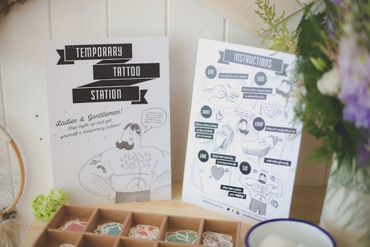 Festival Brides Love: Doris Loves' Tattoo Station in a Box