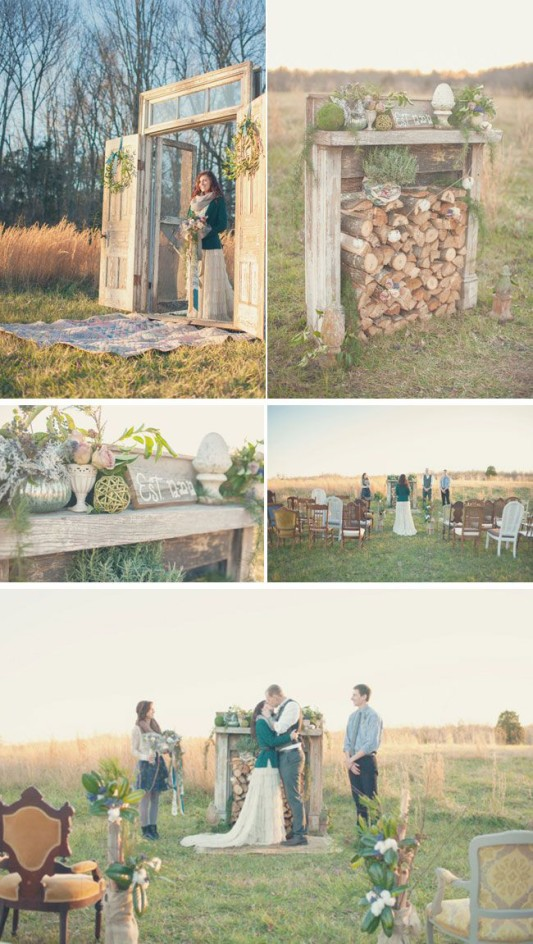 Fireplaceweddinginspiration17