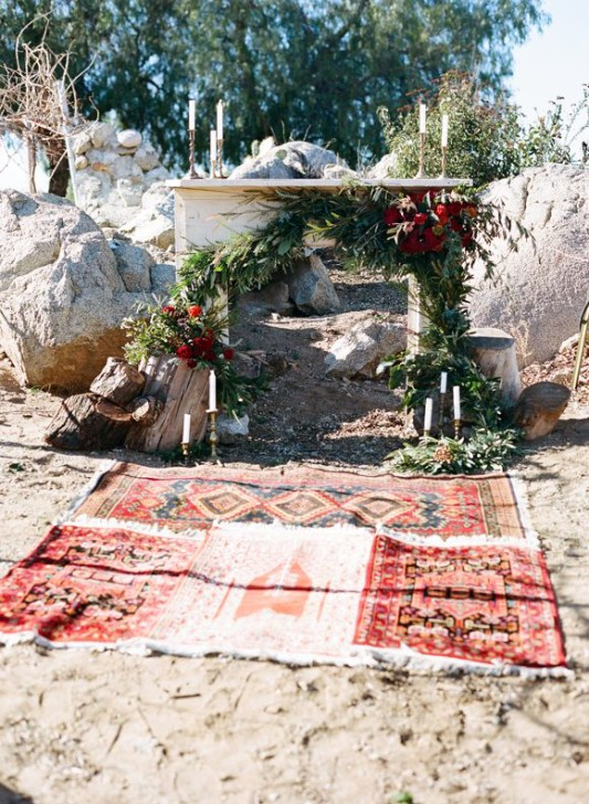 Fireplaceweddinginspiration22