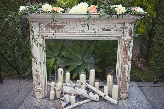 Fireplaceweddinginspiration23