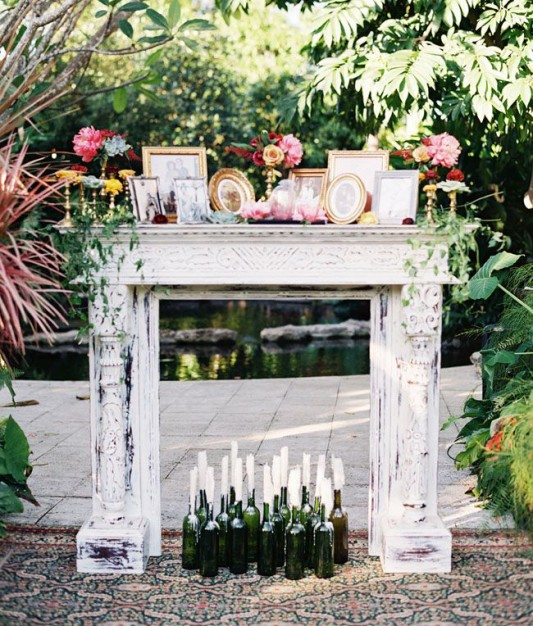 Fireplaceweddinginspiration26
