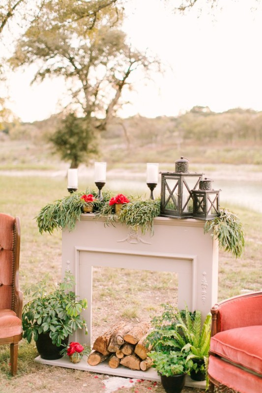 Fireplaceweddinginspiration28