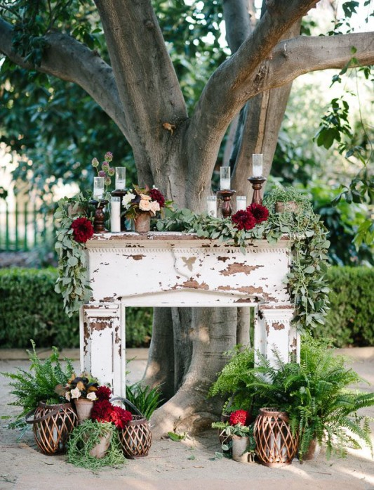 Fireplaceweddinginspiration30