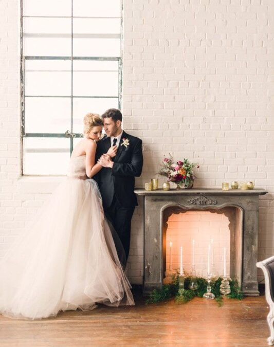 Autumn and Winter Wedding Inspiration: The Wedding Fireplace