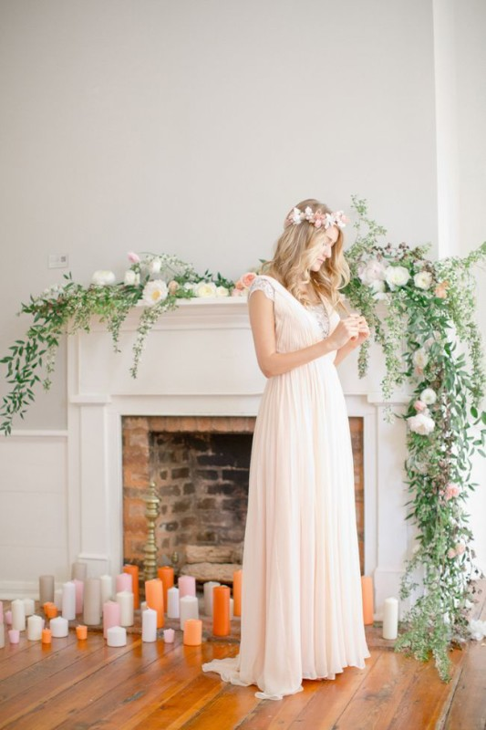 Fireplaceweddinginspiration39
