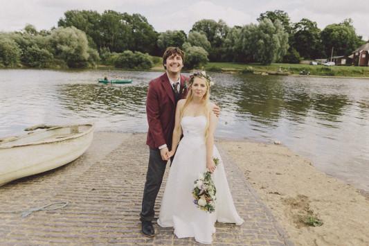 Flo + Ollie Tewkesbury Festival Wedding Scuffins Photography 083