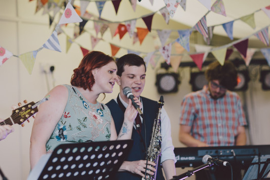 Flo + Ollie Tewkesbury Festival Wedding Scuffins Photography 143