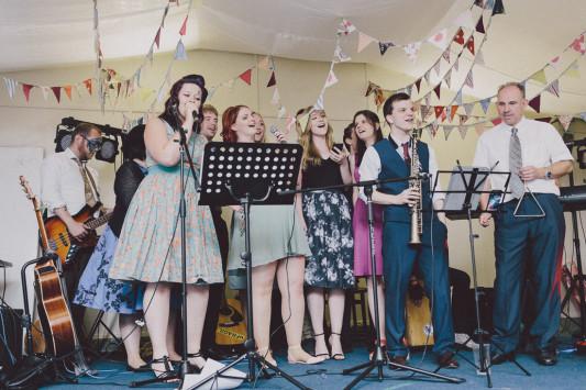 Flo + Ollie Tewkesbury Festival Wedding Scuffins Photography 145