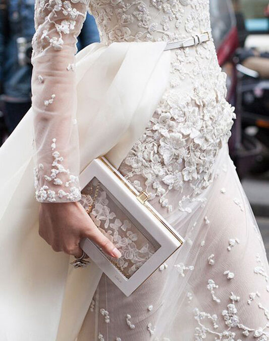 2015 / 2016 Wedding Dress Trend: Floral Textures