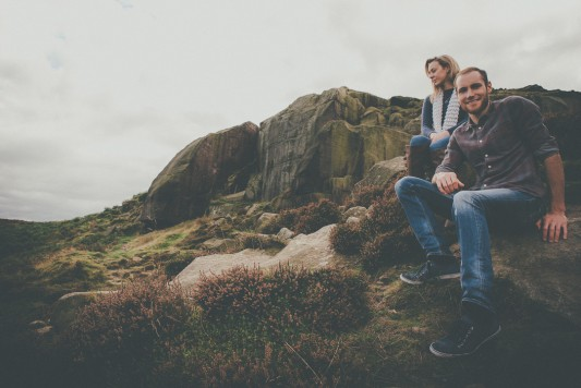 Rachel & Mark's Ilkley Engagement Shoot By Shutter Go Click Photography-12