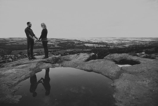 Rachel & Mark's Ilkley Engagement Shoot By Shutter Go Click Photography-24