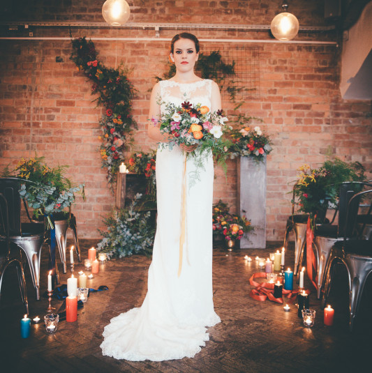 An Edgy Multicoloured Industrial Styled Shoot by Mode20