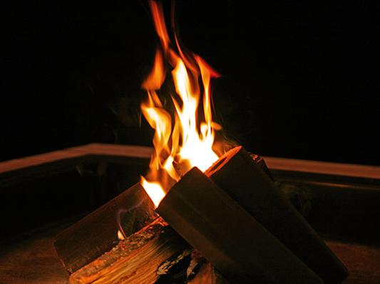 Log fire 2