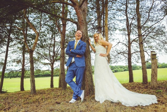 Vicky and Tom's Relaxed Festival Wedding in a Tipi