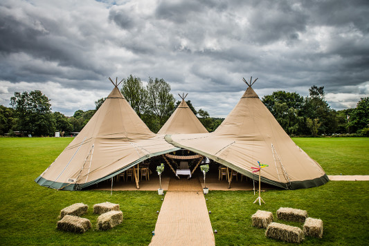 Festival Brides Love: Totally Tipi