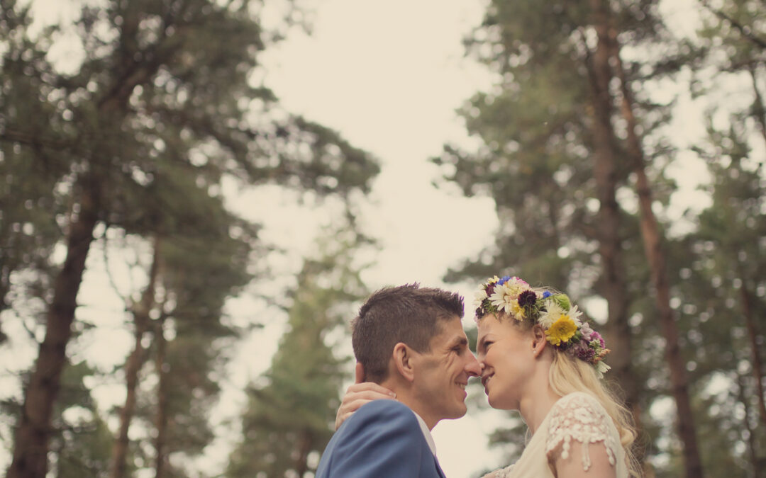 Victoria and Jason's Bohemian Themed Renewal of Vows in the Woods