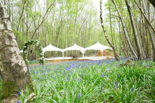 New Festival Wedding Venue with 2016 Availability! Woodland, Lake, Vineyard and Meadow in Kent