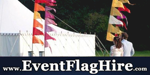 Event Flag Hire NEW SB