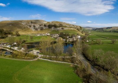 Kilnsey aerial view c Chris North