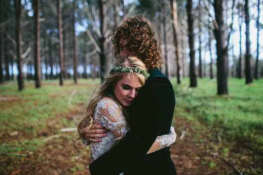Festival Brides Love: Through the Woods We Ran