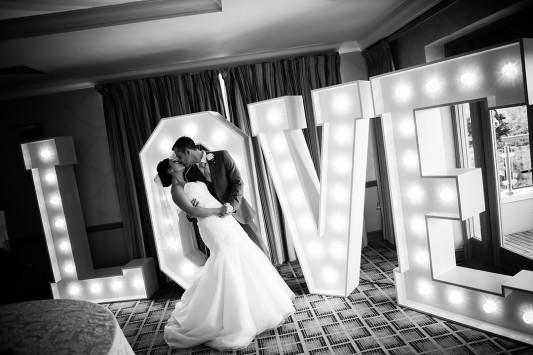 Laura & Ross lovelights