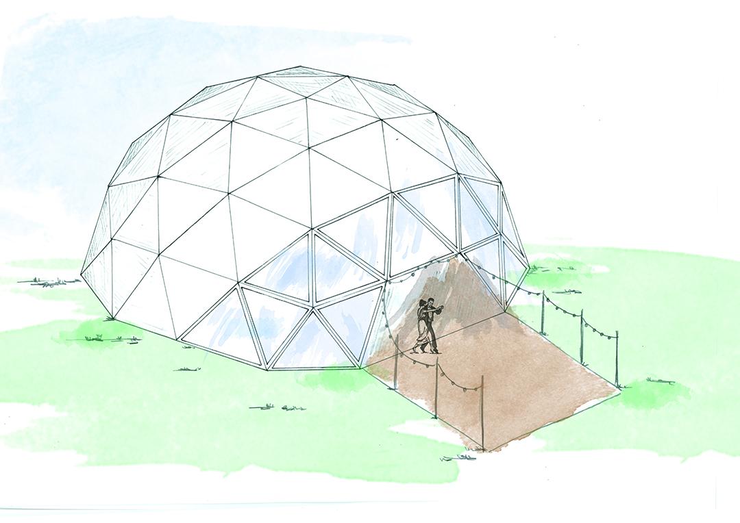 dome, single