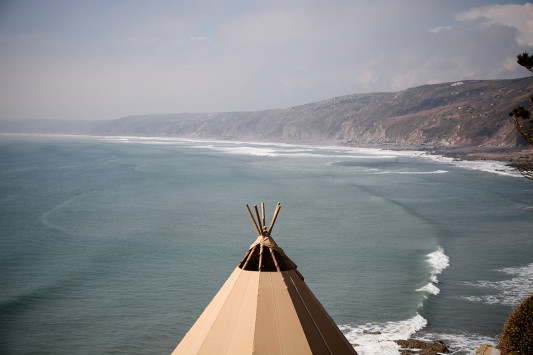Festival Brides Love: Timber & Canvas Tipi Hire