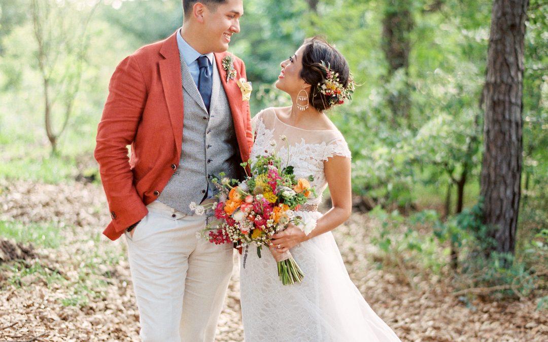 Raul and Atalia's Pretty & Quirky DIY Wedding