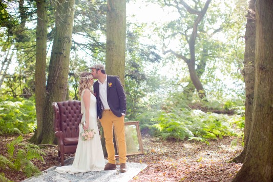 An Outdoor Festival Wedding Venue with a Licensed Woodland