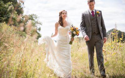 Heather & Rob's Pretty and Rustic Festival Style Barn Wedding