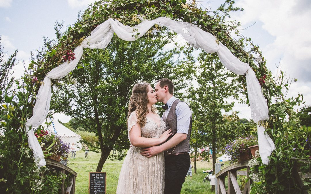 Cat and Reece's Vintage Inspired Farm Wedding….