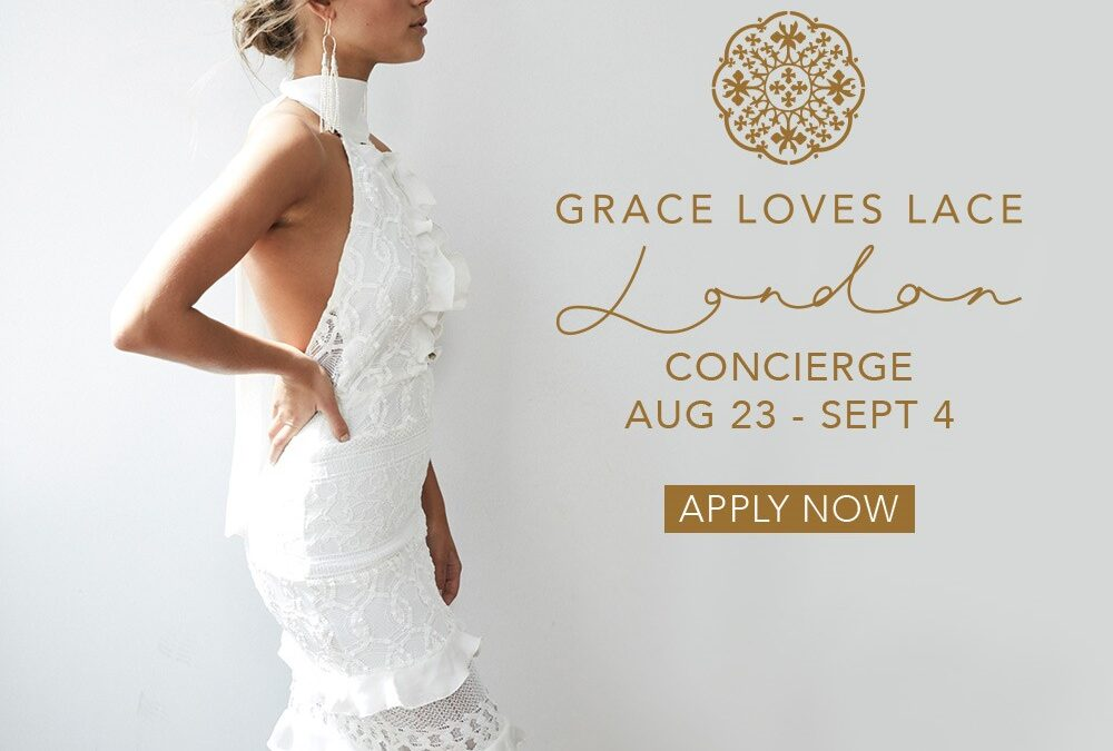 Grace Loves Lace Are Coming To London!