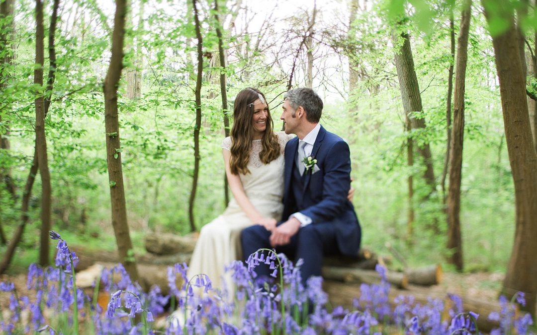 Andrew and Amelia's Ethereal Vintage Wedding In The Woods