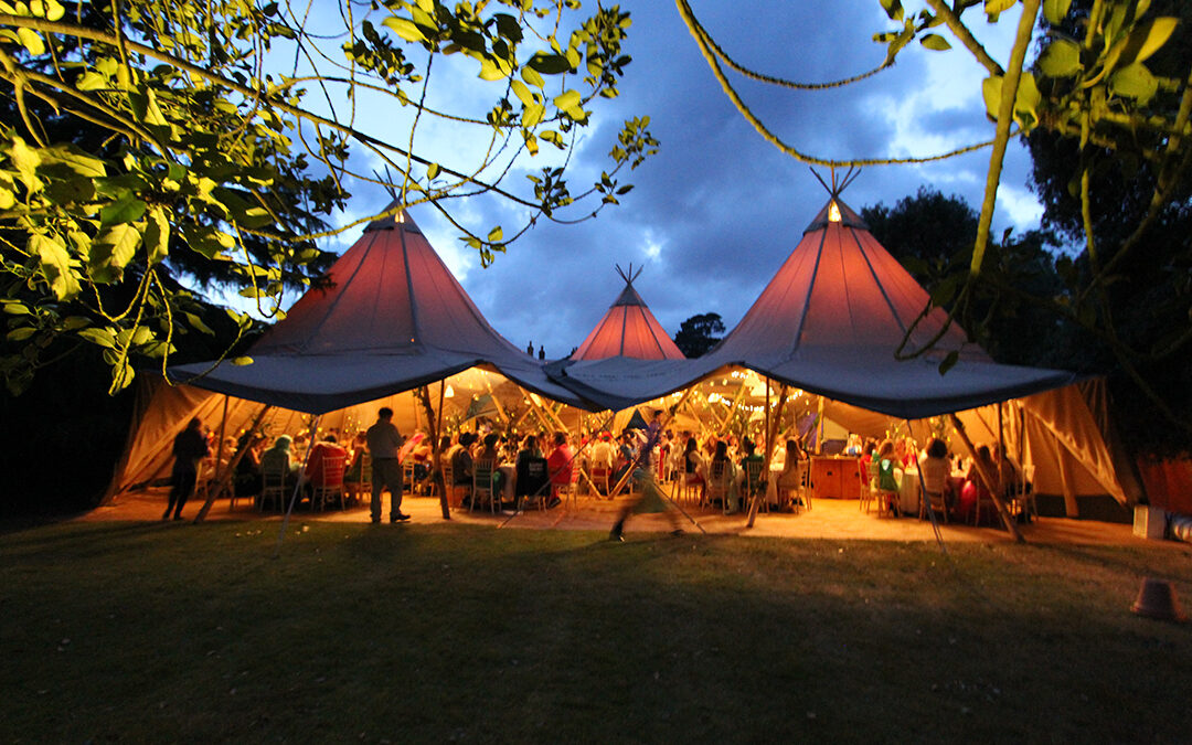 Festival Brides Love: Wedding Tipis by Events Under Canvas
