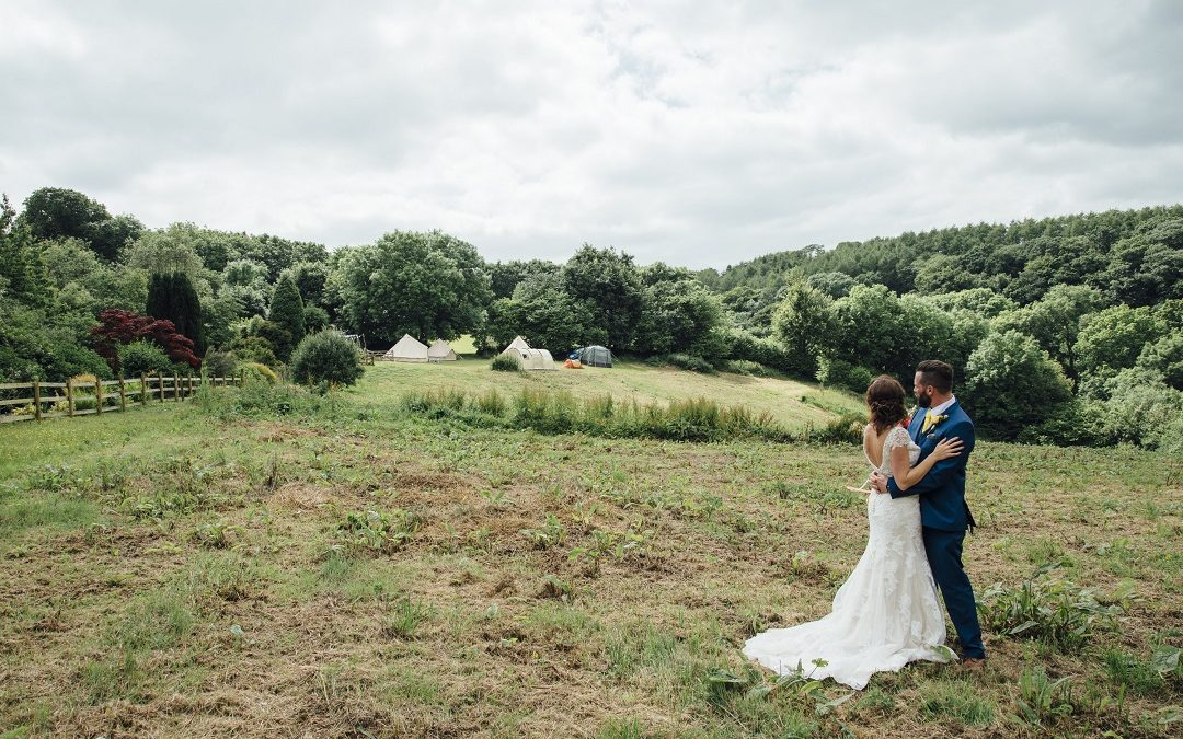 Naomi and Guy's Bright, Bold and Colourful Festival Wedding