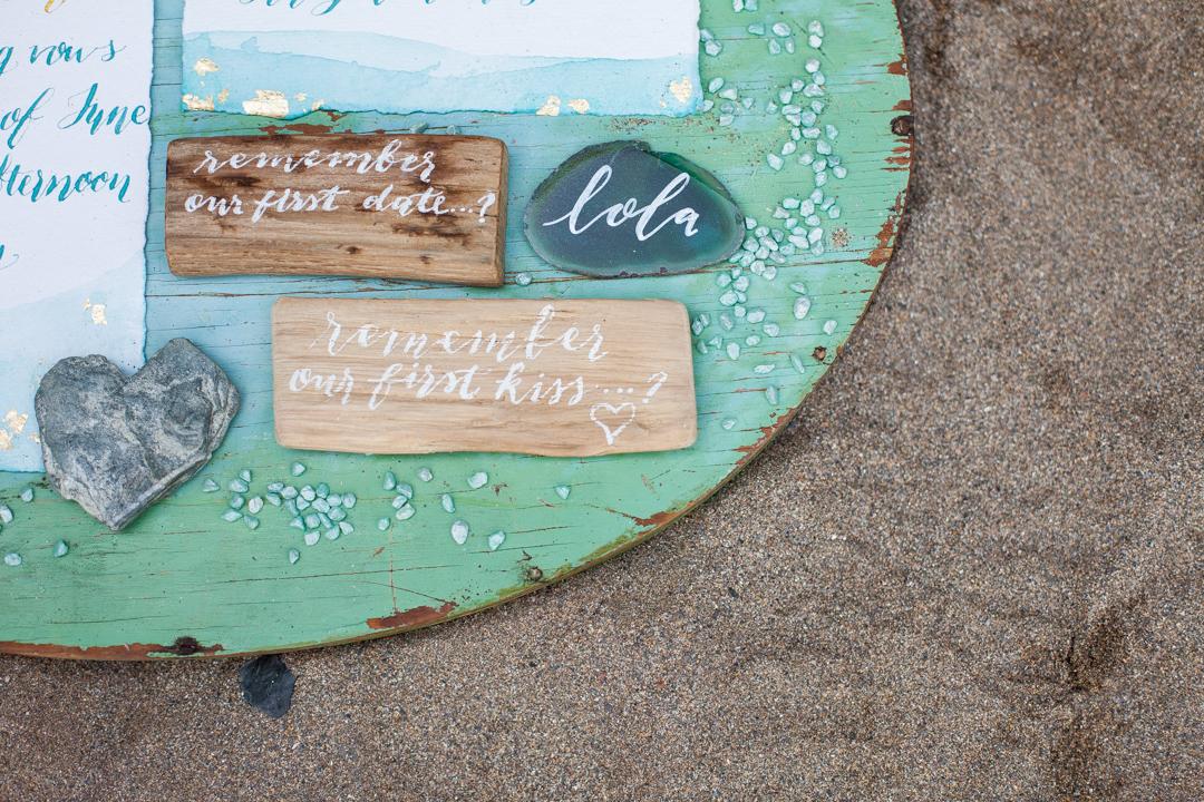 Beach engagement 1035