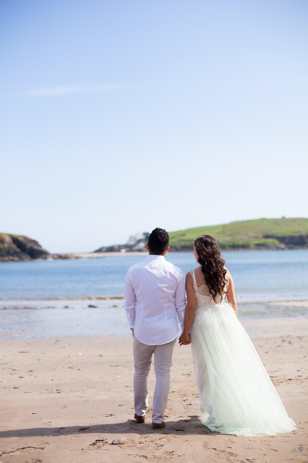 Beach engagement 1267