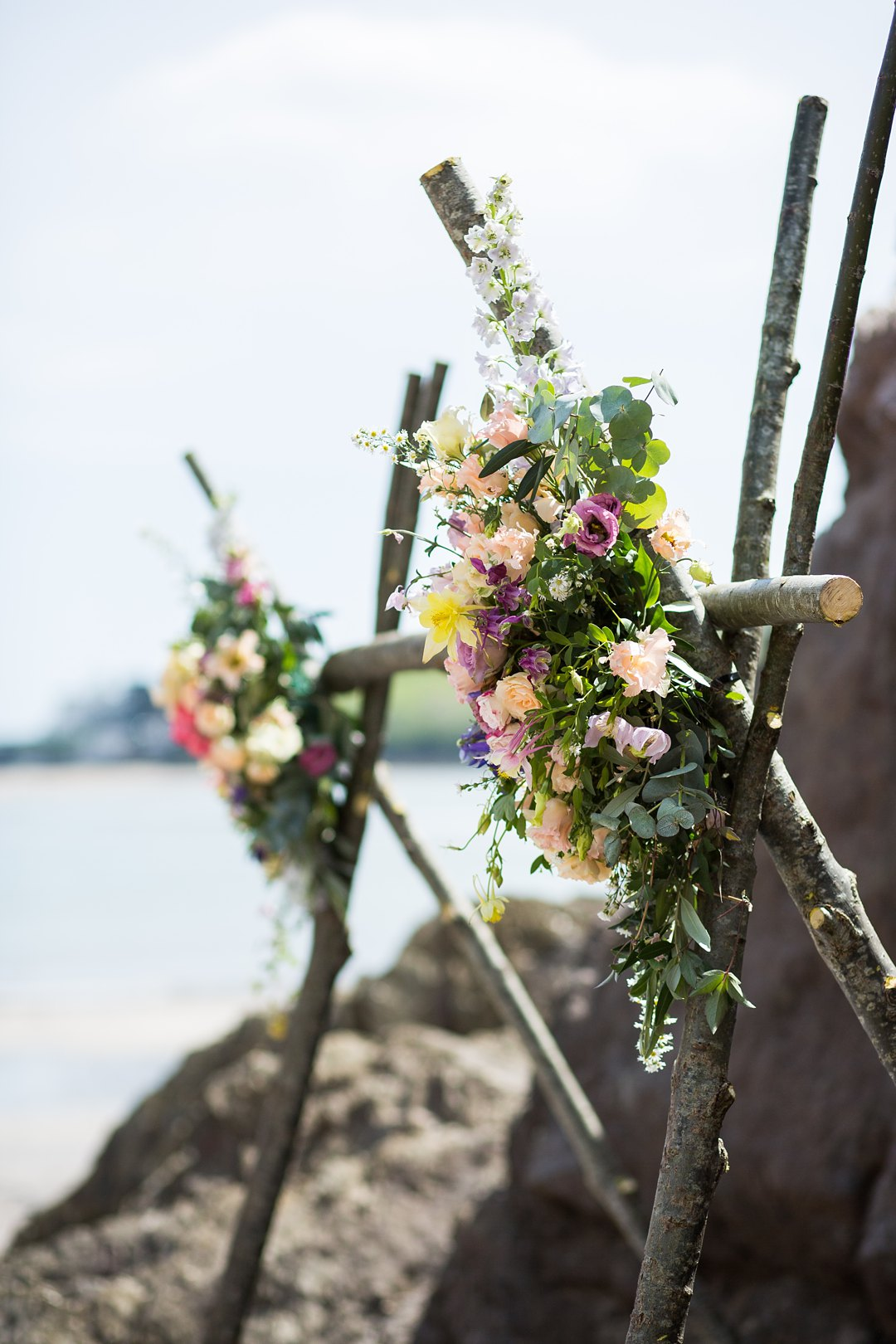 Beach engagement 1357