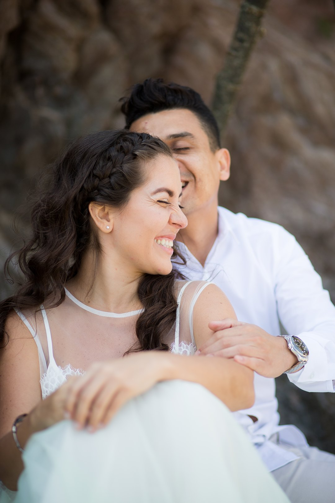 Beach engagement 1424