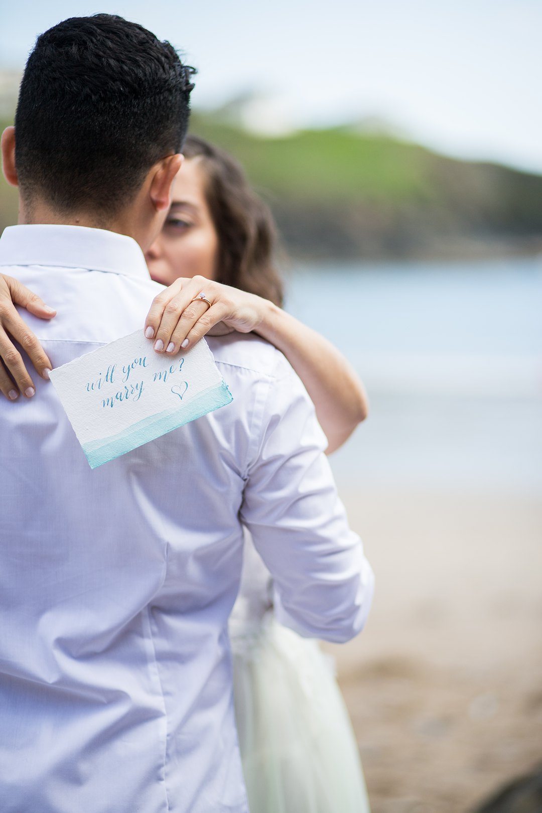 Beach engagement 1480