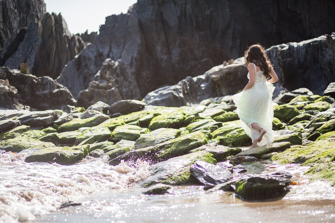 Beach engagement 1701