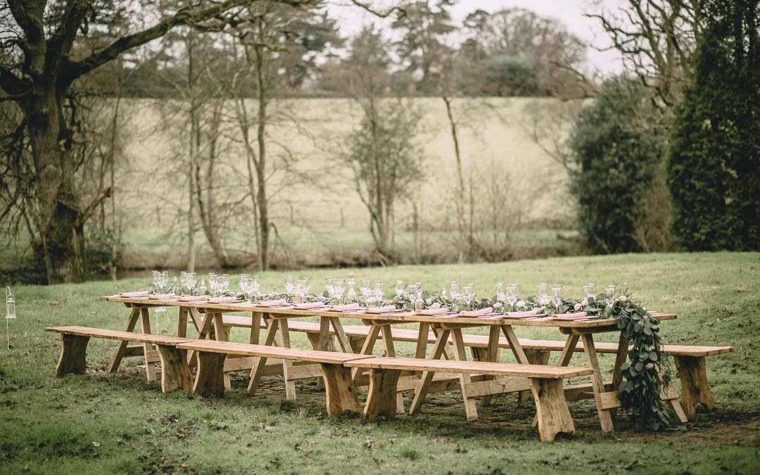 Table Decor Inspiration: Elegant Bohemian Styling in The English Countryside