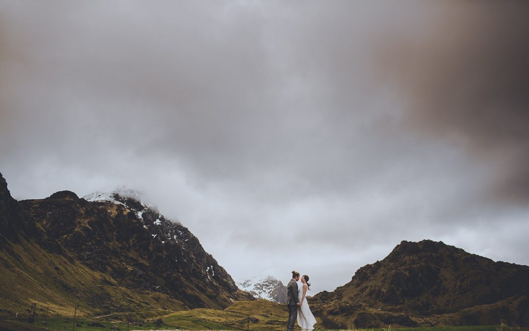Håvard and Stine's Lofoten Islands Elopement