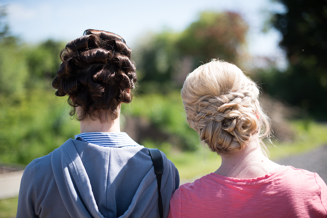 braids and plaits for bridesmaid hair